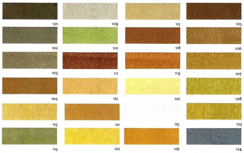 Colores para hormigón impreso
